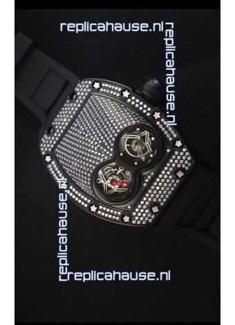 Richard Mille RM053 Tourbillon Pablo Mac Donough Swiss Replica Watch in PVD Case