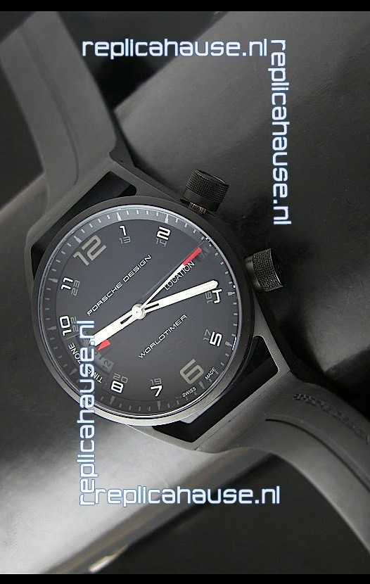 Porsche Design P6750 Worldtimer Dlc Swiss Replica Watch