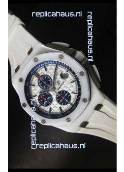 Audemars Piguet Royal Oak Offshore White Ceramic - Ultimate 1:1 3126 Movement