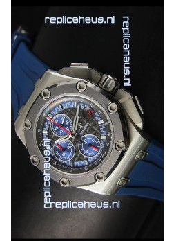 Audemars Piguet Royal Oak Offshore Michael Schumacher Titanium in Blue - Ultimate 1:1 3126 Movement