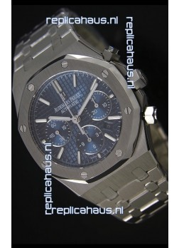 Audemars Piguet Roal Oak in Blue Dial 1:1 Mirror Replica
