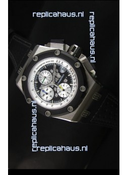 Audemars Piguet Royal Oak Offshore Rubens Barrichello Titanium Black -  1:1 Mirror Replica