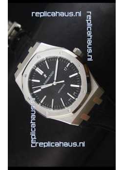 Audemars Piguet Royal Oak 41MM Watch in Leather Strap - Ultimate 1:1 3120 Movement