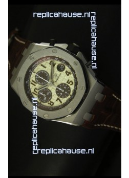 Audemars Piguet Royal Oak Offshore White Safari Edition - 1:1 Mirror Replica Watch