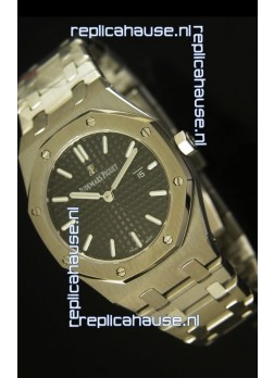 Audemars Piguet Royal Oak Ladies Black Dial 33MM - 1:1 Mirror Replica Edition