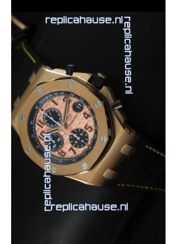 Audemars Piguet Royal Oak Offshore THEMES Pink Gold Casing
