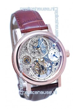 Breguet Classique 3755 Skeleton Tourbillon Swiss Replica Watch