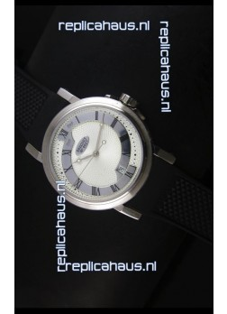 Breguet 4927 Stainless Steel Swiss Replica Watch in White Dial