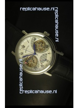Breguet Dual Tourbillon Watch in Japanese Movement