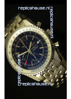 Breitling Navitimer World GMT - 1:1 Mirror Ultimate Edition Black Dial