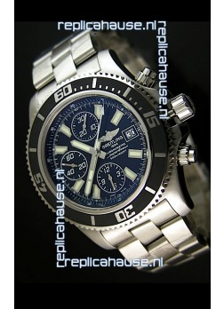 Breitling SuperOcean Abyss Swiss Chronograph Replica Watch - 1:1 Mirror Replica - 44MM White Markers