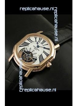 Daniel Roth Classic Tourbillon Swiss Watch in Rose Gold Case