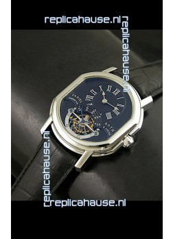 Daniel Roth Classic Tourbillon Swiss Watch in Black Dial