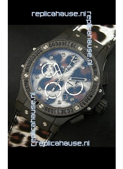 Hublot Big Bang Leopard PVD Swiss Replica Watch