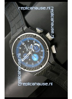 Hublot King Power F1 Interlago Limited Edition Swiss Watch in Blue