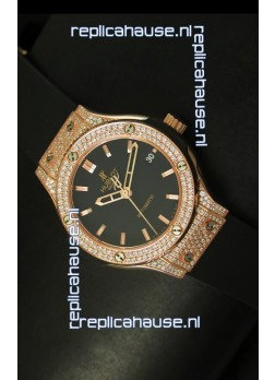 Hublot Classic Fusion 39MM Rose Gold Diamonds Case