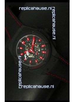 Hublot Big Bang King F1 MONZA Edition PVD Swiss Quartz Watch 45MM