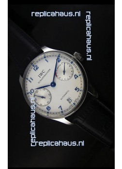 IWC Portugieser IW500705 Swiss Automatic Watch in White Dial - Updated 1:1 Mirror Replica