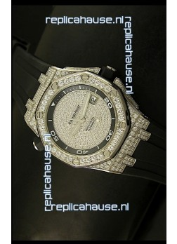 Audemars Piguet Royal Oak Offshore Diver Watch - Iced out Edition