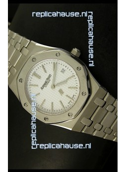 Audemars Piguet Royal Oak Ultra Thin Swiss Replica Watch in White Dial
