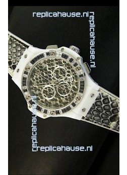 Hublot Big Bang Snow Leopard MARIA HOFL -RIESCH Edition 34MM Watch