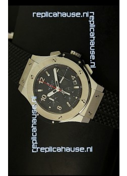 Hublot Big Bang Stainless Steel Casing Swiss Watch 41MM - 1:1 Mirror Replica