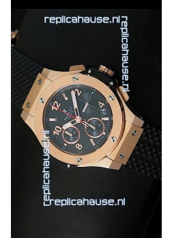 Hublot Big Bang Pink Gold Casing Swiss Watch 40MM - 1:1 Mirror Replica