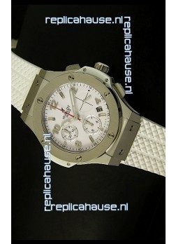 Hublot Big Bang Stainless Steel Casing Watch 40MM - 1:1 Mirror Replica