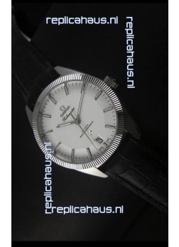 Omega Globemaster Co-Axial Swiss White Dial Stainless Steel - 1:1 Mirror Replica Watch