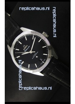 Omega Globemaster Co-Axial Swiss Black Dial Stainless Steel - 1:1 Mirror Replica Watch