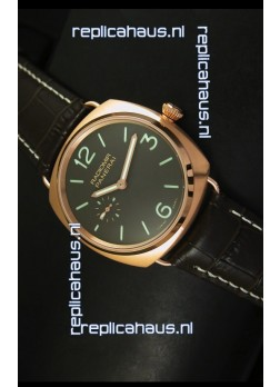 Panerai Radiomir Model PAM00336 Swiss Watch in Pink Gold - 1:1 Mirror Edition