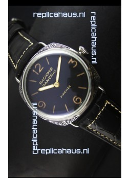 Panerai PAM604 Radiomir Firenze 3 Days Acciaio Swiss Watch - Unitas Movement