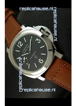 Panerai Luminor PAM318 Swiss Replica Watch in Black Dial