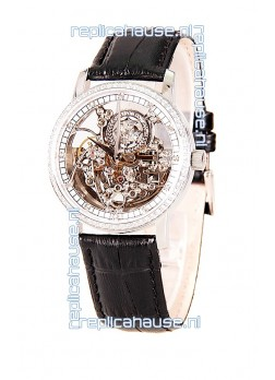 Vacheron Constantin Skeleton Diamonds Swiss Watch
