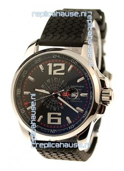 Chopard 1000 Miglia GT XL GMT Japanese Replica Watch in Black Dial