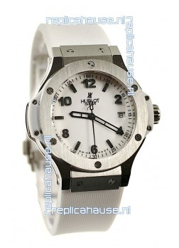Hublot Big Bang White Replica Watch in Swiss Casing