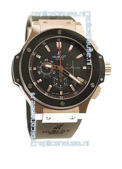 Hublot Big Bang Swiss Chronograph Watch in Steel
