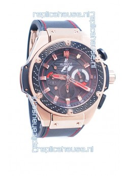 Hublot Big Bang F1 King Power Swiss Replica Rose Gold Watch