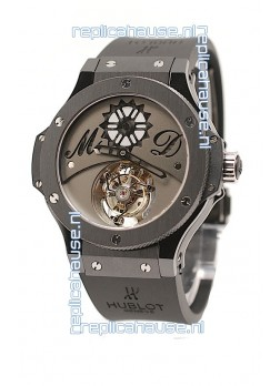 Hublot Big Bang Tourbillon MD Solo Bang Swiss Replica PVD Watch