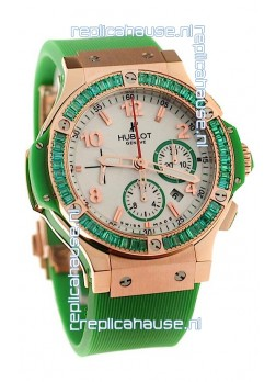 Hublot Gold Big Bang Tutti Frutti Apple Swiss Replica Watch