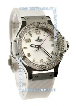 Hublot Big Bang All White 40MM Swiss Replica Watch