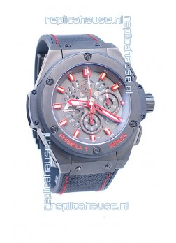 Hublot Big Bang F1 Monza King Power Swiss Replica Ceramic Watch