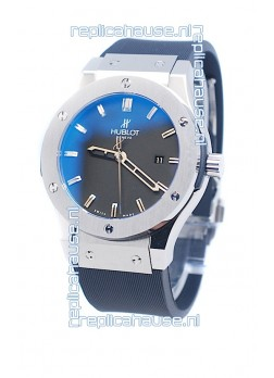 Hublot Classic Fusion Silver Watch in Steel Case