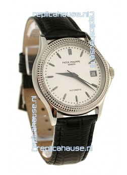 Patek Philippe Geneve Replica Watch in White Dial