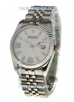 Rolex Datejust Silver Replica Watch