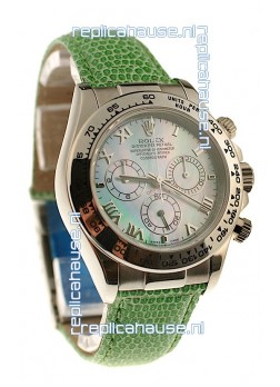 Rolex Daytona Cosmograph Swiss Replica Watch in Green Pearl Dial
