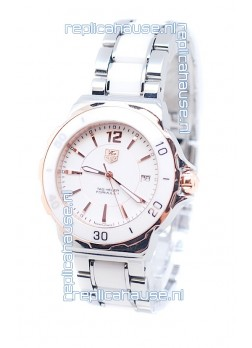 Tag Heuer Formula 1 Japanese Quartz Ladies Watch in Rose Gold Bezel