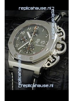 Audemars Piguet Royal Oak Watch in Grey Dial - Secs hand 9 O Clock