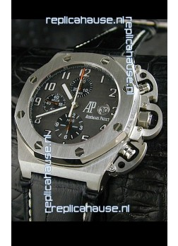 Audemars Piguet Royal Oak Watch in Black Dial - Secs hand 9 O Clock