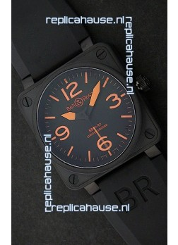 Bell and Ross BR 01-92 Swiss Watch in PVD Casing
